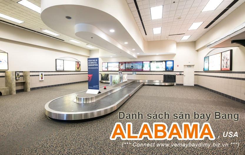 Sân bay bang Alabama Mỹ