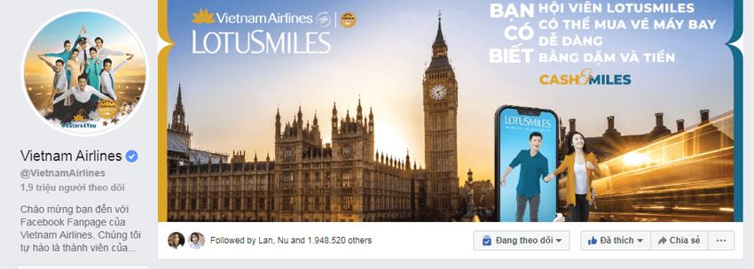 Fanpage VietNam Airlines