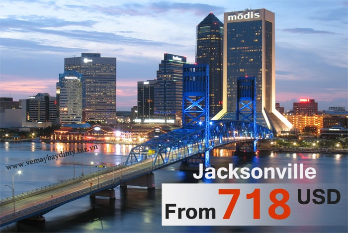 vé máy bay đi jacksonville giá rẻ