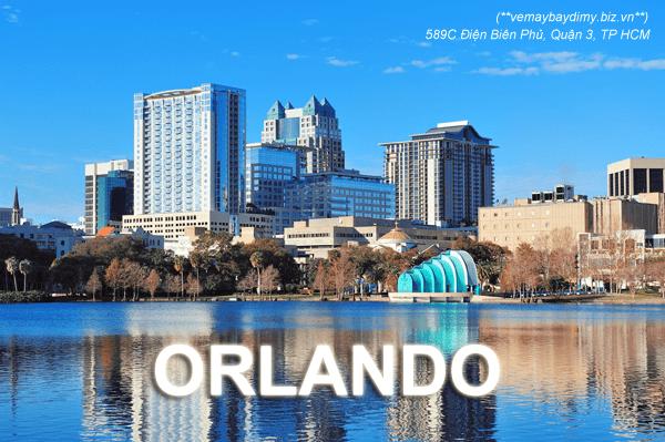 vé máy bay đi Orlando, Florida Mỹ