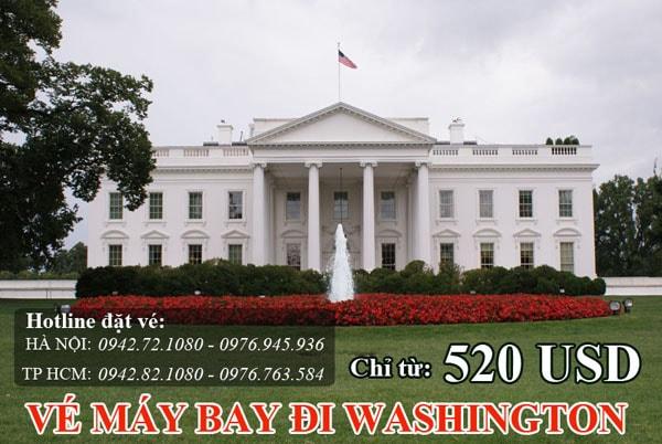 Vé máy bay đi Washington (WAS)