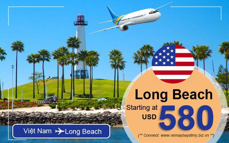 Vé đi Long Beach