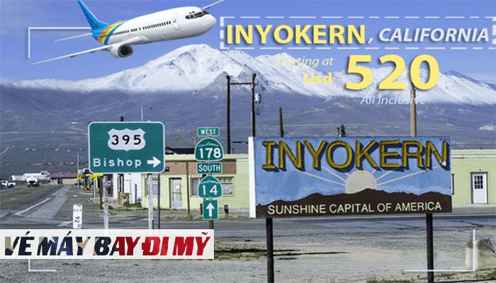 Vé máy bay đi Inyokerng giá rẻ