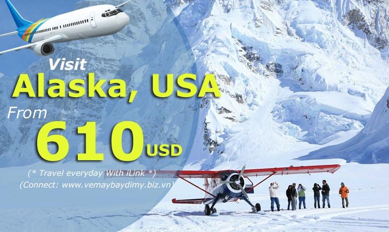 Vé máy bay đi Alaska