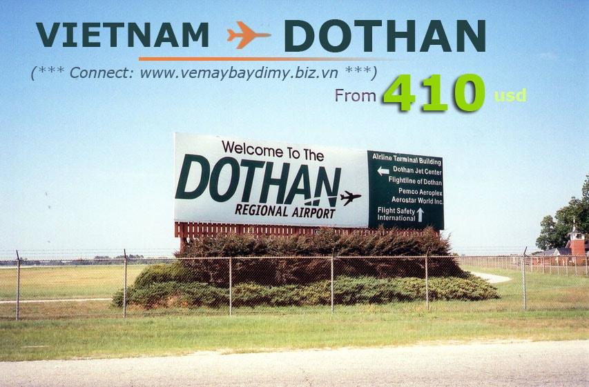Vé đi Dothan (Alabama)