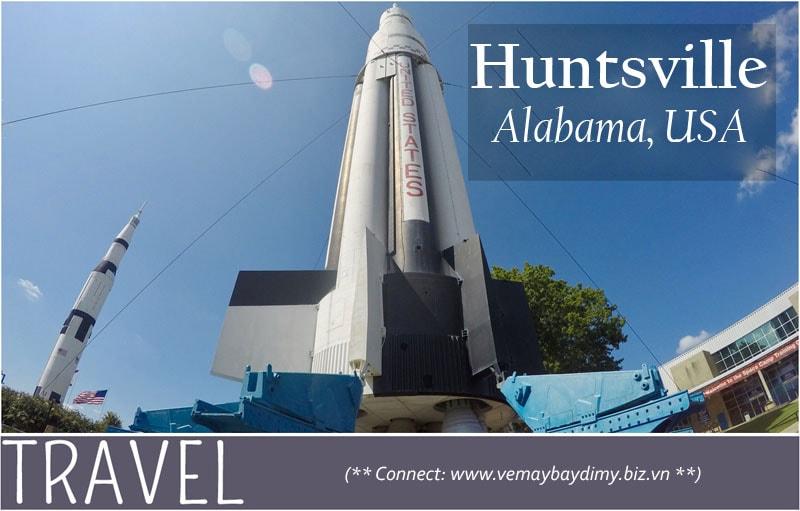 Vé máy bay đi Huntsville, Alabama