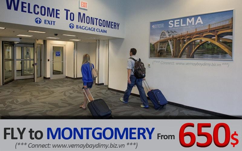 Vé đi Montgomery giá rẻ
