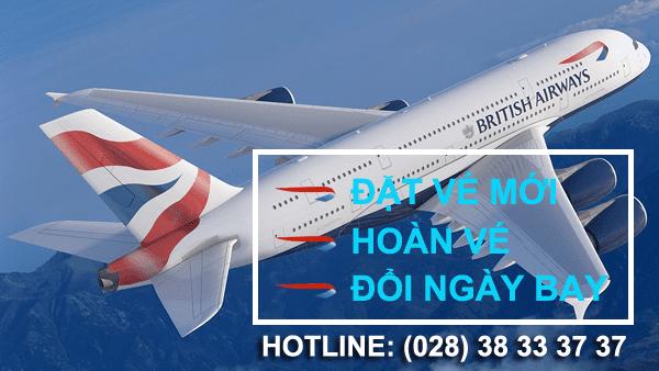 Vé máy bay đi mỹ hãng British Airways