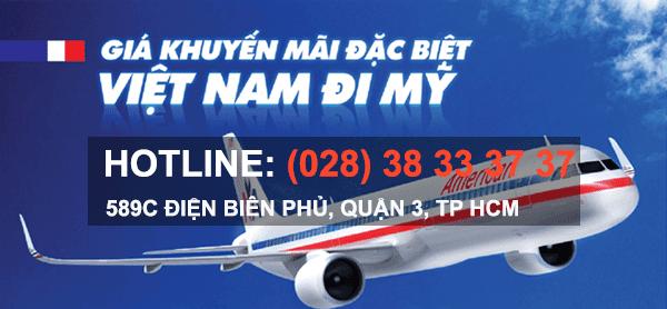 vé máy bay đi mỹ giá rẻ