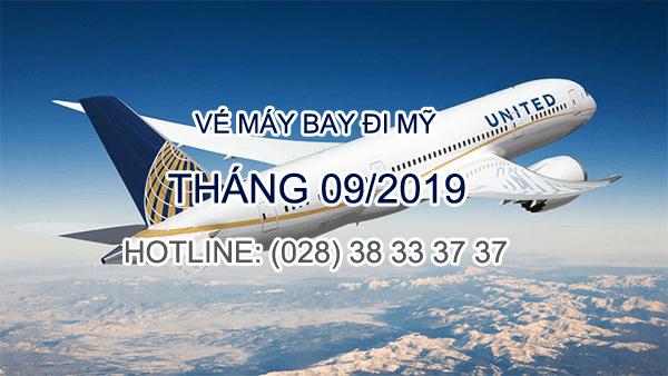 vé máy bay đi mỹ tháng 9/2019
