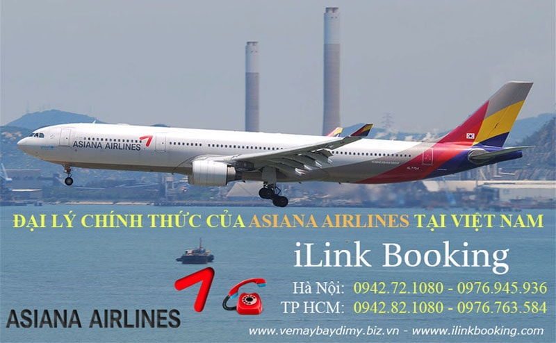 Asiana Airlines đi Mỹ