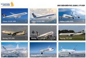 Đội bay của Singapore Airlines