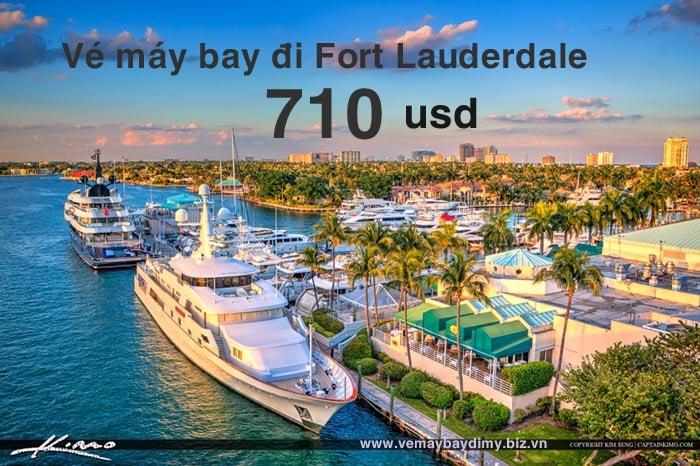 vé máy bay di fort lauderdale giá rẻ