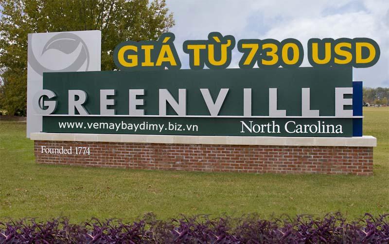 Vé máy bay đi Greenville (GSP)