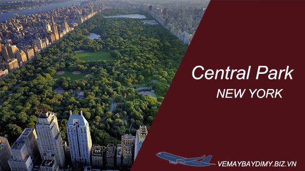 Công viên trung tâm ( Central Park ) ở New York, Mỹ