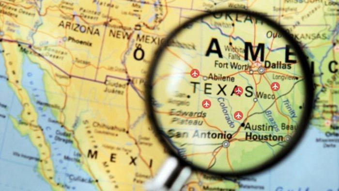 danh sách các sân bay ở Texas