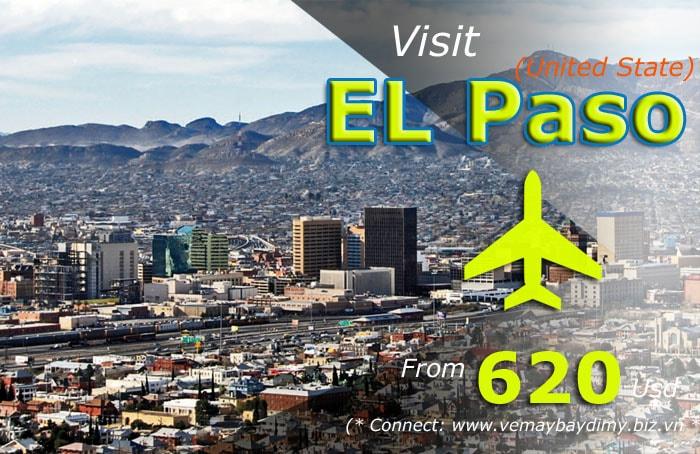 vé máy bay đi el paso giá rẻ