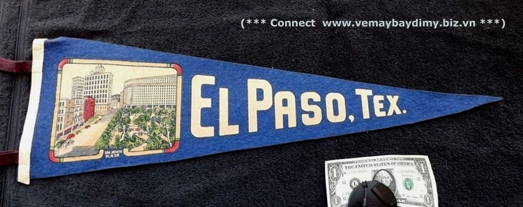 Đặt vé đi EL Paso Texas