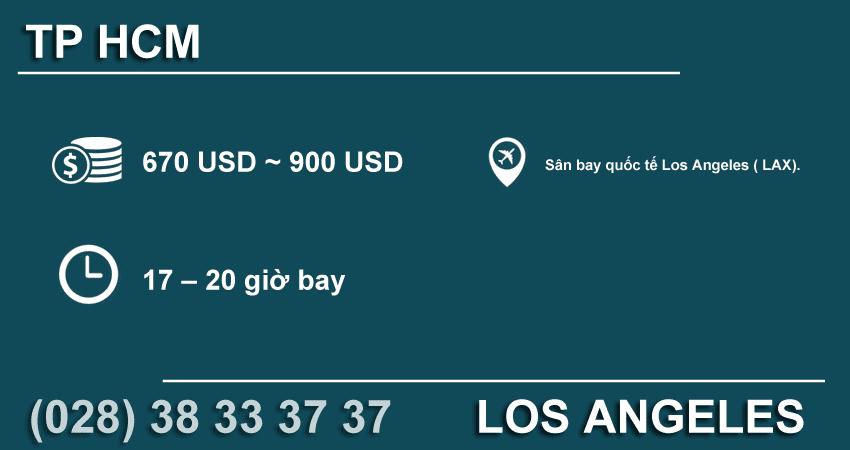 Đường bay TP HCM – Los Angeles