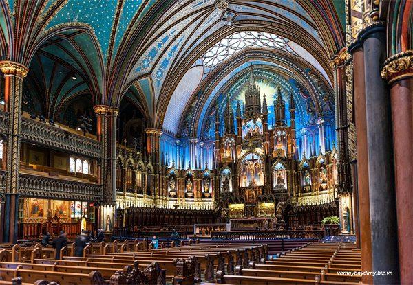 Nhà thờ Đức Bà ở Montreal