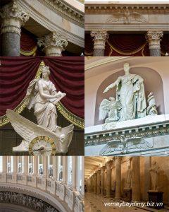 Nội thất trong Điện Capitol