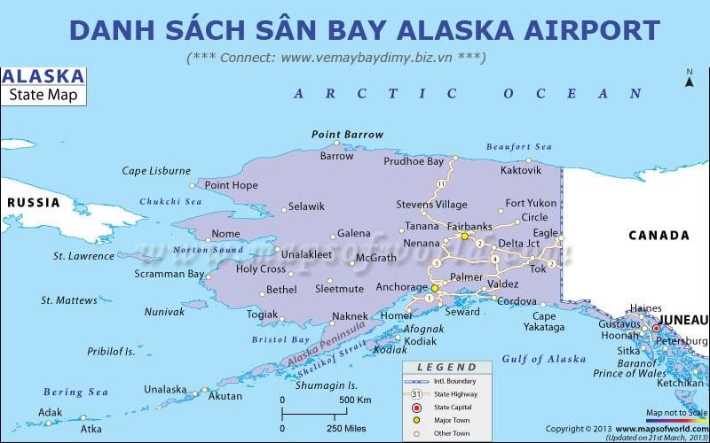 Sân bay Alaska