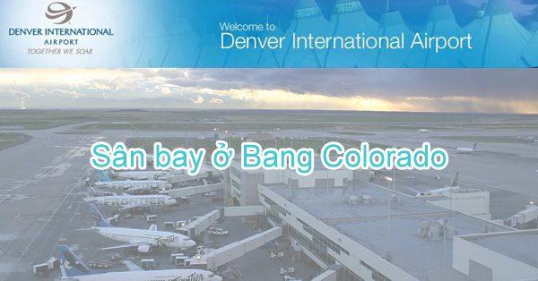 Danh sách các sân bay ở tiểu bang Colorado