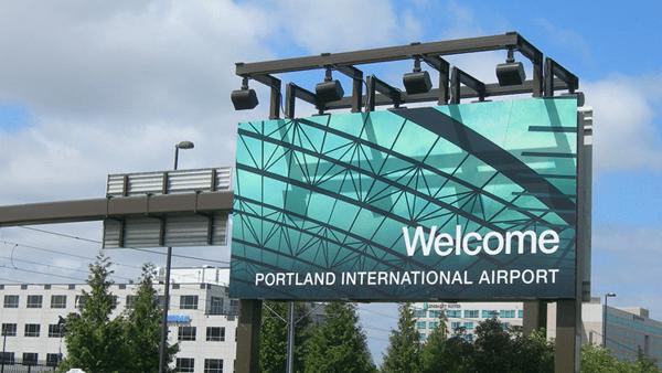 Sân bay ở Bang Oregon