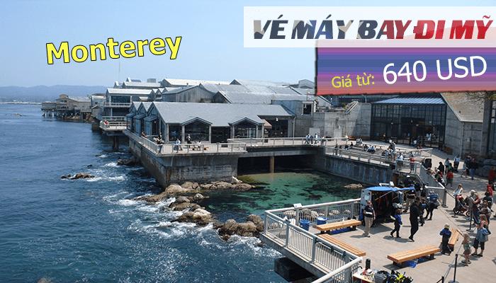 Vé máy bay đi Monterey giá rẻ