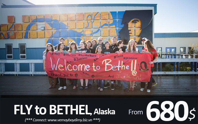 Vé máy bay đi Bethel