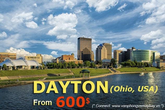Vé máy bay đi Dayton