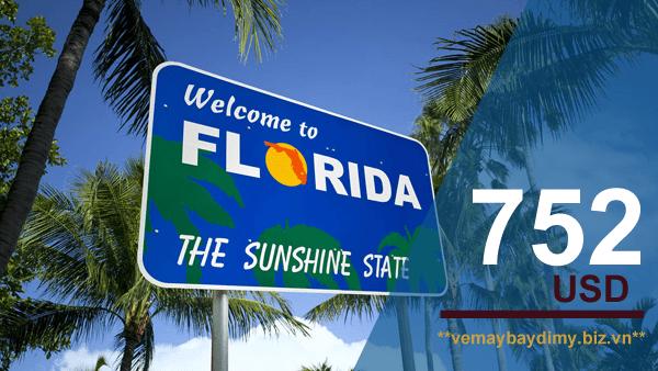 Vé máy bay đi Florida giá rẻ