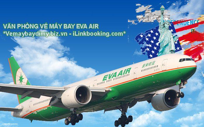 ve may bay di my hang eva air