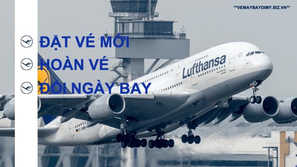 vé máy bay đi mỹ hãng Lufthansa Airlines