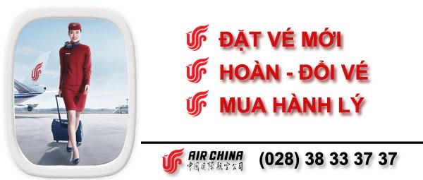 Vé máy bay đi Mỹ hãng Air China