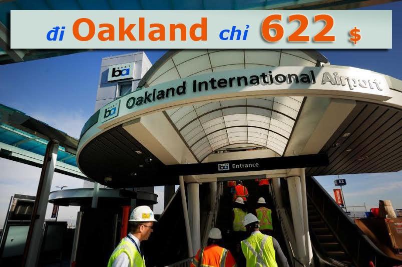 vé đi oakland california