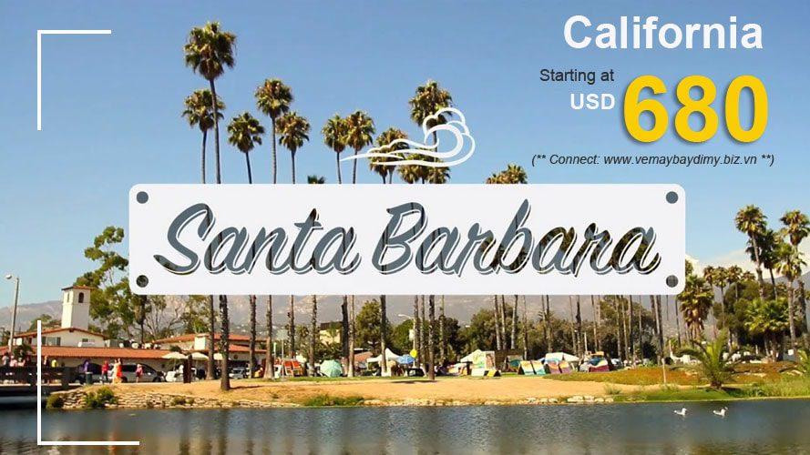Đặt vé đi Santa Barbara